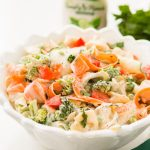 10 Minute Ranch Tortellini Pasta Salad