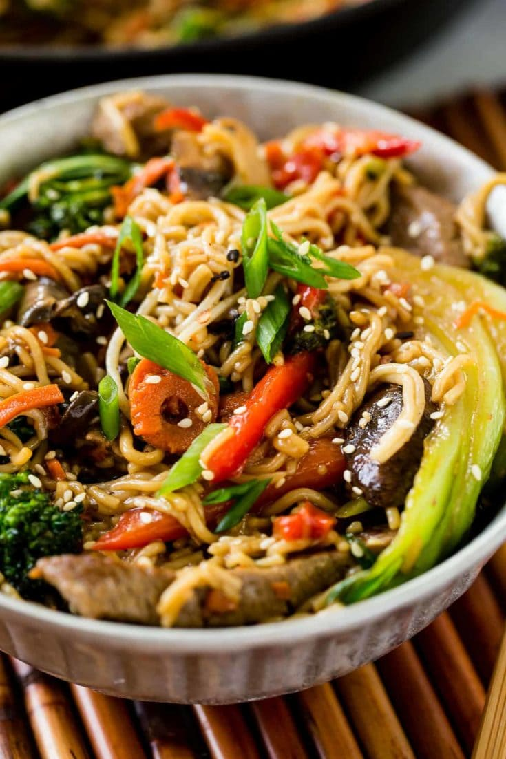 15 Minute Quick and Easy Beef Stir Fry