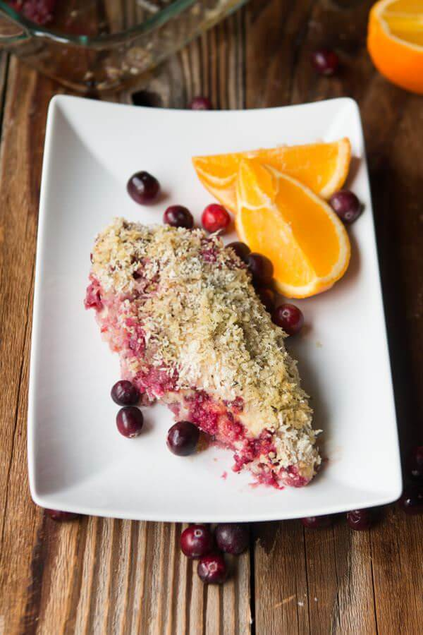 Easy Cranberry Citrus Chicken to use up holiday leftovers. ohsweetbasil.com