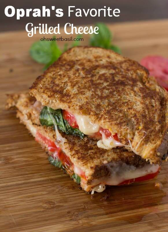 Oprah's Favorite Grilled Cheese