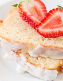 Moist lemon yogurt cake ohsweetbasil.com