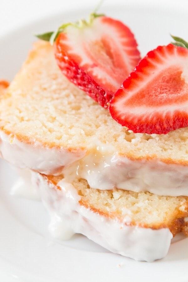Perfectly light and delicious lemon yogurt cake ohsweetbasil.com