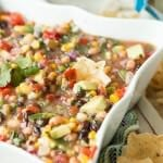 Cowboy Caviar, easy and perfect for parties ohsweetbasil.com