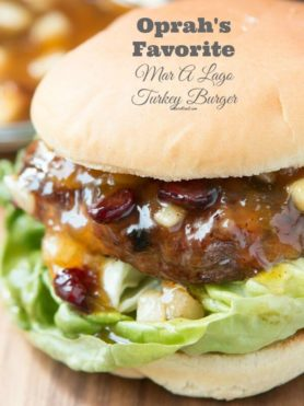 Remember that Oprah show where she gave us the recipe to her favorite turkey burger? Well here it is! Mar-a-lago turkey burger! ohsweetbasil.com