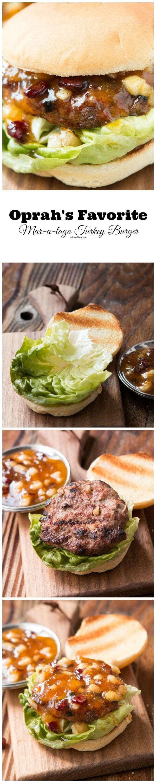 This is Oprah's favorite turkey burger recipe!! ohsweetbasil.com