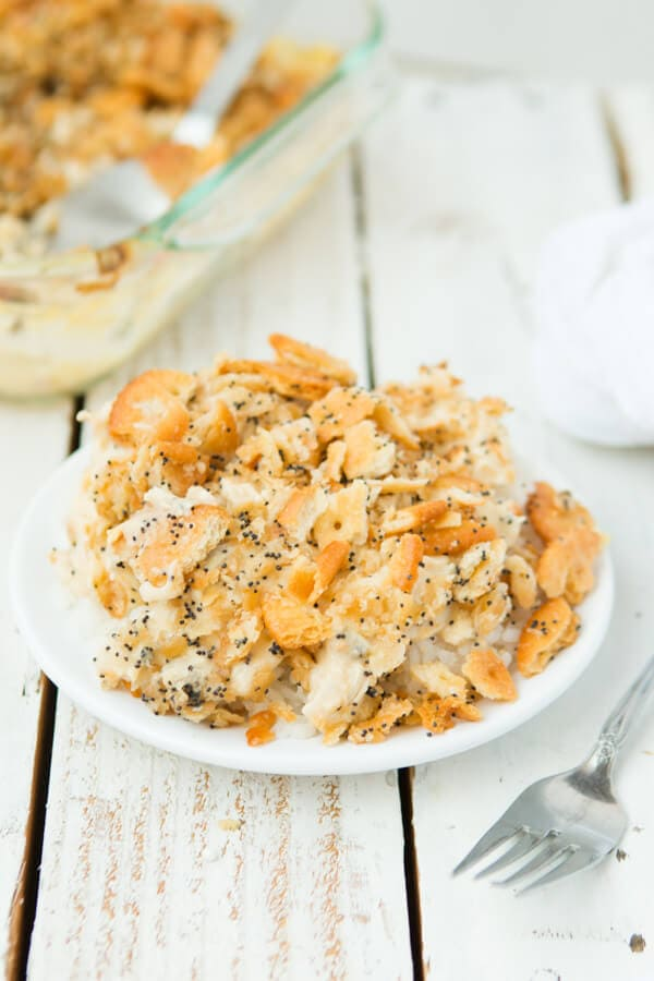 poppy seed chicken casserole ohsweebasil.com