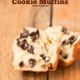 These are awesome!!! Chocolate Chip Cookie Muffins ohsweetbasil.com