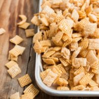 gooey chex mix, classics never get old ohsweetbasil.com