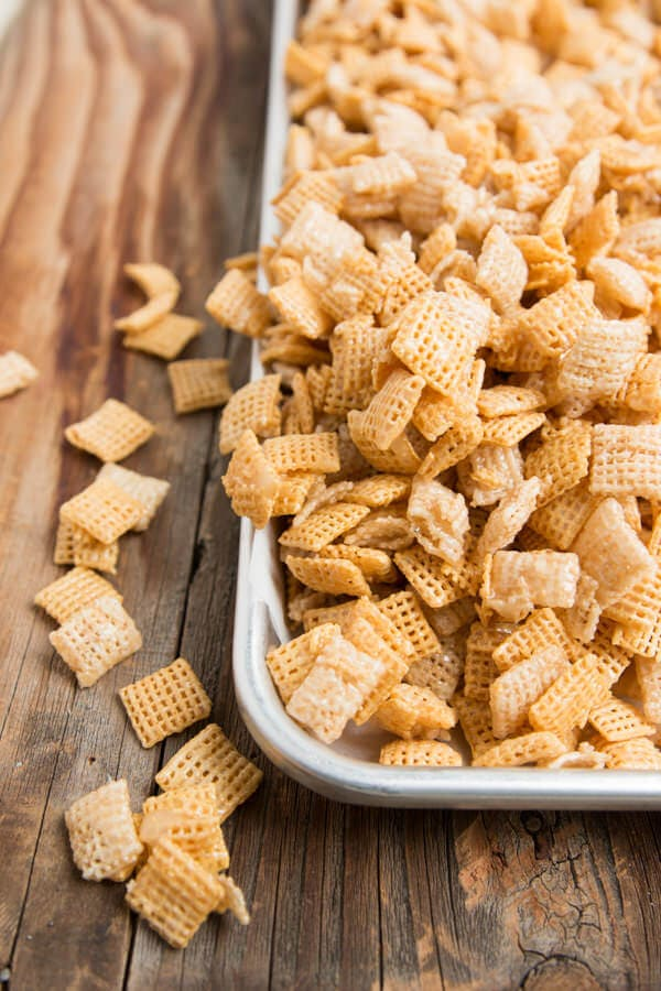 Sweet Gooey Chex Mix