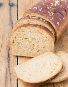 Our family loves this easy homemade molasses oatmeal bread recipe ohsweetbasil.com