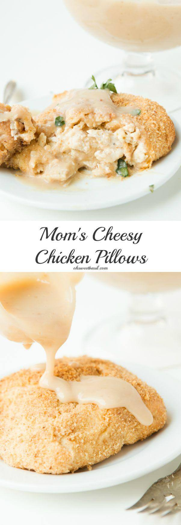Mom's killer cheesy chicken pillows that the kids can't resist ohsweetbasil.com