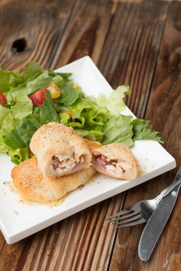 chicken cordon bleu ohsweetbasil.com