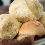 Easy and quick, these one hour rolls are a favorite! ohsweetbasil.com