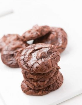 Even better than brownies cookies! ohsweetbasil.com