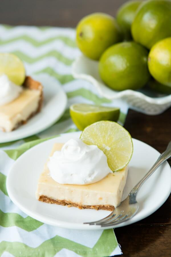 Key Lime Bars - Torta De Limao