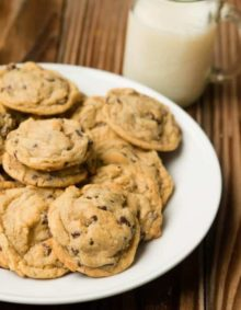 The original pudding chocolate chip cookie recipe, pizza factory copycat ohsweetbasil.com