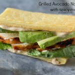 Grilled Chicken and Avocado Napoleons