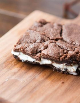 Cookies and Cream Brownies are my new love ohsweetbasil.com