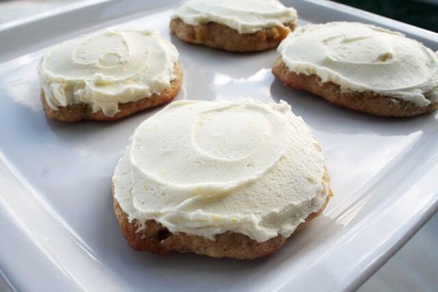 Banana Lemon Cookies ohsweetbasil.com