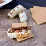 Banana Fosters S'mores
