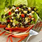 Corn and Black Bean Salad with Roasted Red Pepper