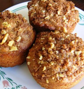 Apple Cider Muffins By: Jennifer ohsweetbasil.com