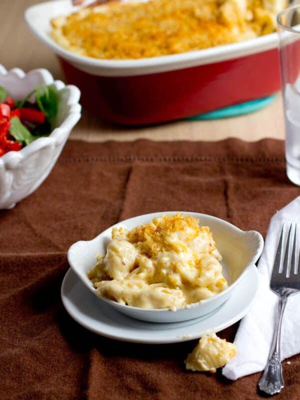 gooey baked macaroni and cheese
