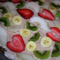 Breakfast Fruit Pizza By: Jennifer ohsweetbasil.com