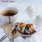 Toffee Ice Cream Sauce-Chocolate Caramel Crunch