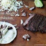 Carne Asada Enchiladas