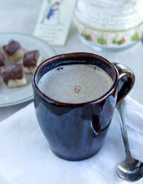 Snowman Milk to spread Christmas cheer!