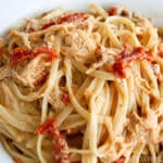 Four Cheese and Sun-dried Tomato Chicken Pasta