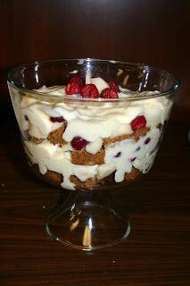 Gingerbread Trifle ohsweetbasil.com