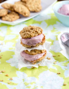 healthy ice cream sandwiches ohsweetbasil.com