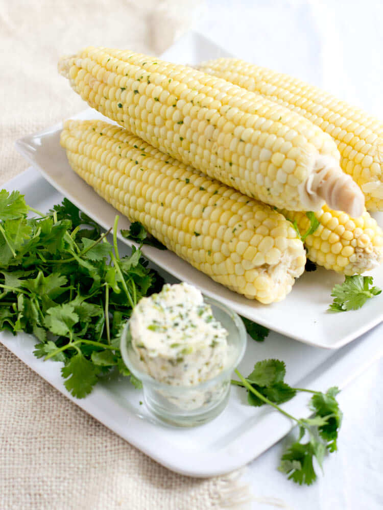 steamed corn recipe
