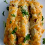 Honey Lime Chicken Enchiladas -Repost