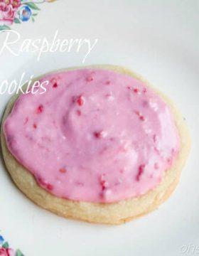 Lemon Raspberry Sugar Cookies