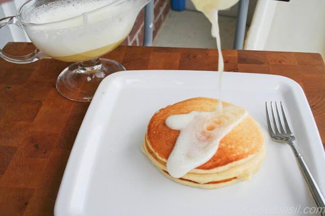 Meyer Lemon and Greek Yogurt Pancakes