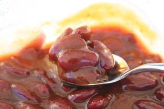 Cade's Red Baked Beans