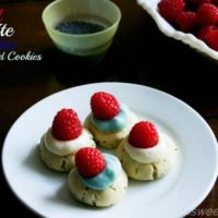 Red White And Blue Poppy Seed Cookies ohsweetbasil.com