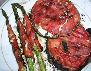 Prosciutto wrapped asparagus. Fun with Prosciutto By: Jennifer ohsweetbasil.com
