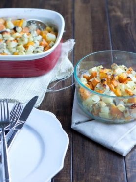 Root Vegetable Bake