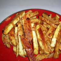 Sweet Potato Fries ohsweetbasil.com