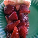 Summer Strawberry-Lemon Pie