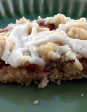 Apple Streusel Bar ohsweetbasil.com