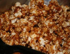Caramel Popcorn ohsweetbasil.com
