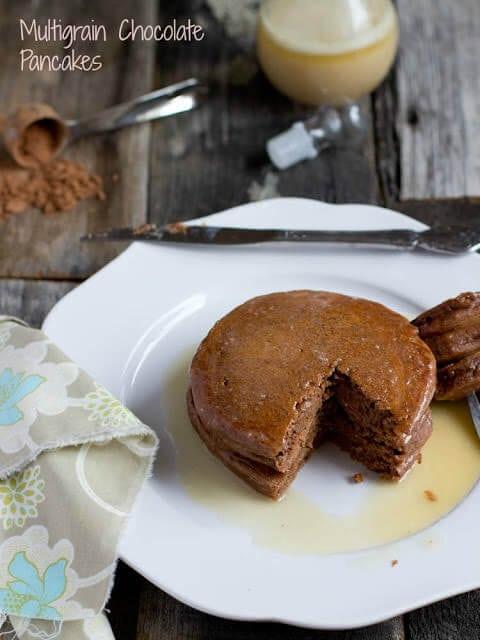 Multi Grain Chocolate Pancakes