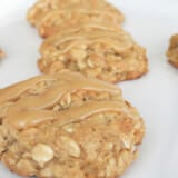 Peanut Butter Banana and Honey Cookies ohsweetbasil.com
