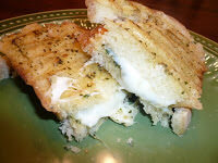 Pesto Butter Grilled Cheese