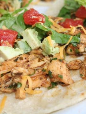 Cook's Country Spicy Adobo Chicken Tacos